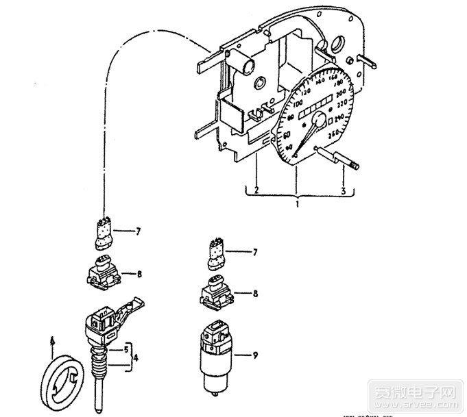 汽车压力传感器工作原理 汽车进气压力传感器 汽车机油压
